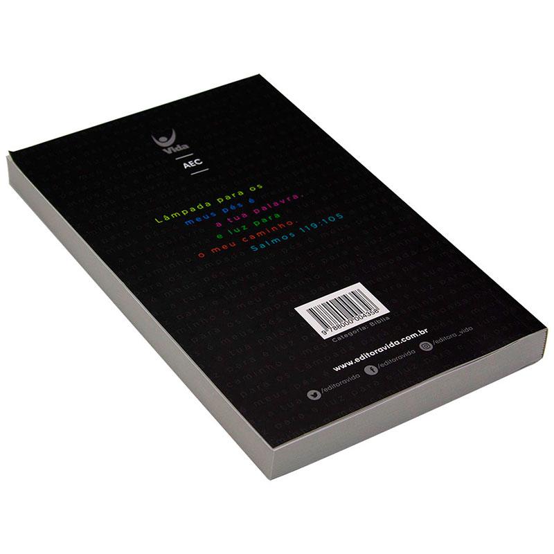 Bíblia Sagrada Lâmpada | AEC | Letras Vermelhas | Capa Brochura