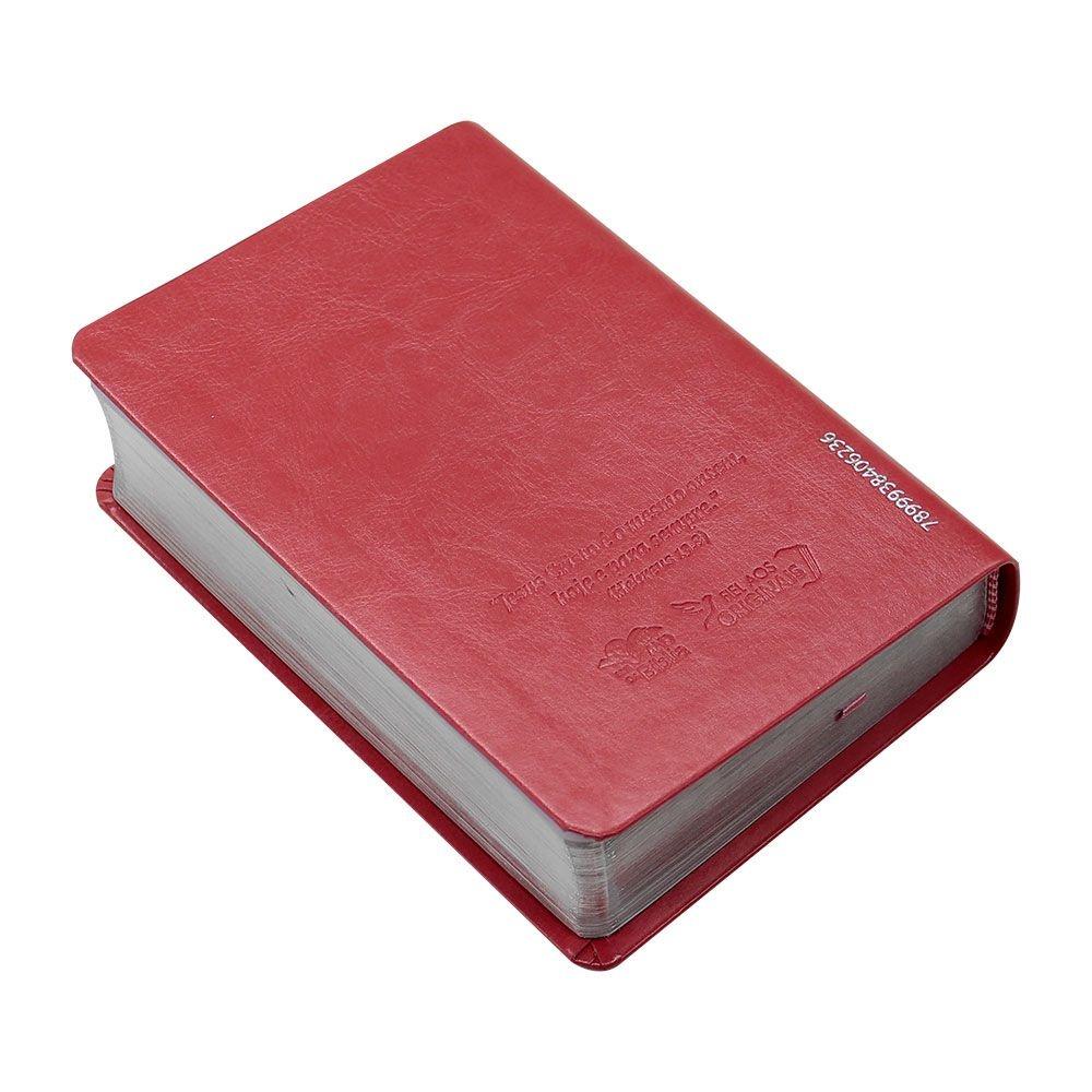 Bíblia Sagrada | NAA| Capa Semiflexível | Letra Grande | Pêssego