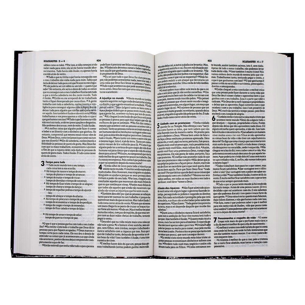 Bíblia Sagrada   NTLH   Capa Dura   Preta