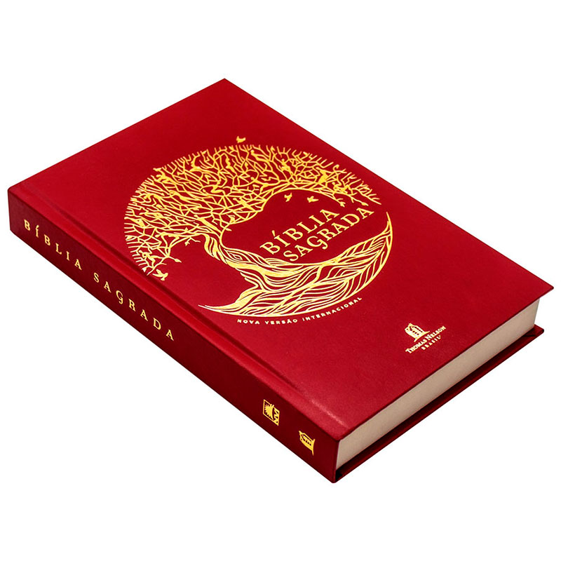 Bíblia Sagrada | NVI | Capa Dura | Vermelha