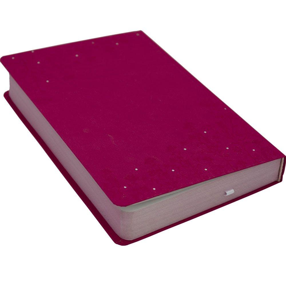 Bíblia Sagrada   NVI   Capa Semiluxo   Rosa