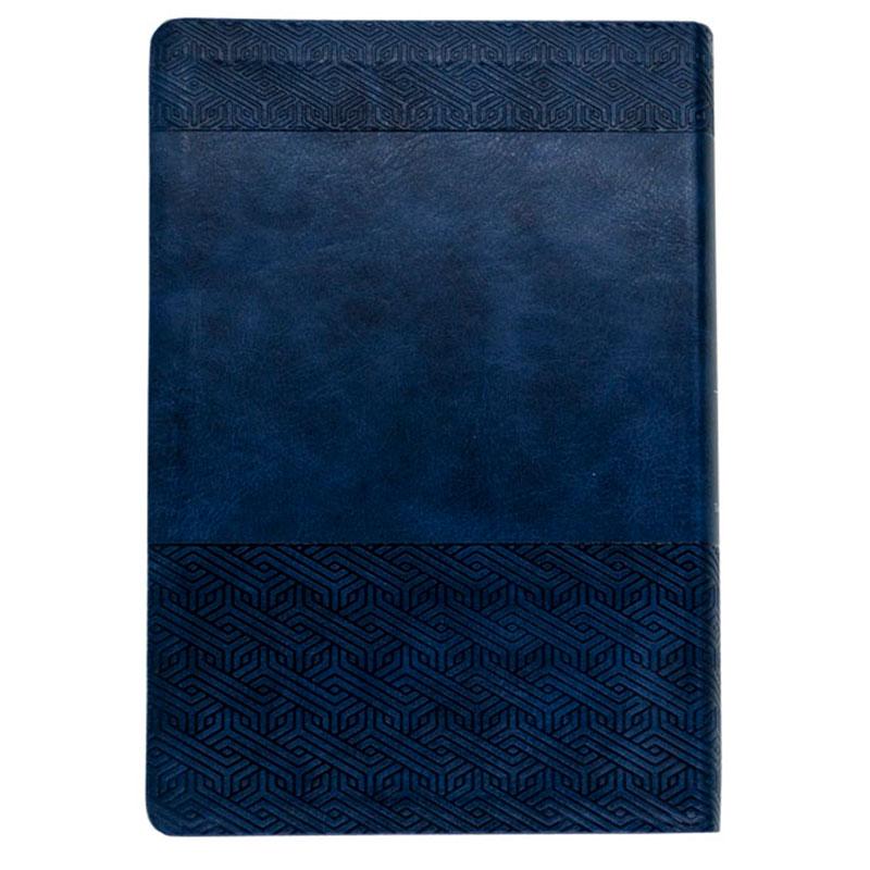 Bíblia Sagrada   NVI   Couro Soft   Azul