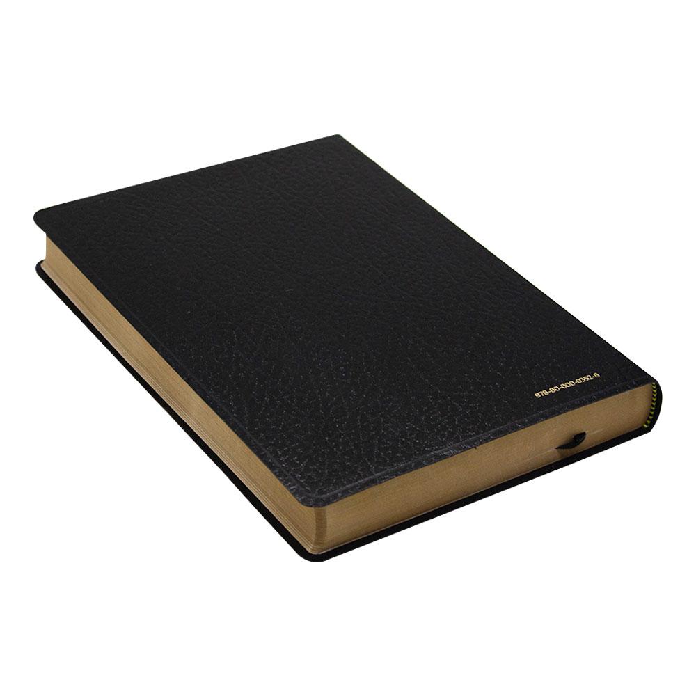 Bíblia Sagrada | NVI | Português - Inglês | Capa Luxo | Preta