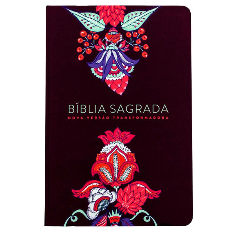 Bíblia Sagrada | NVT | Capa Flexível | Vinho