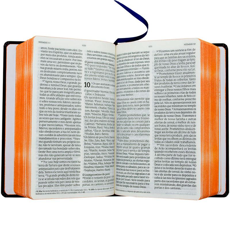 Bíblia Sagrada   NVT   Capa Semiflexível   Azul