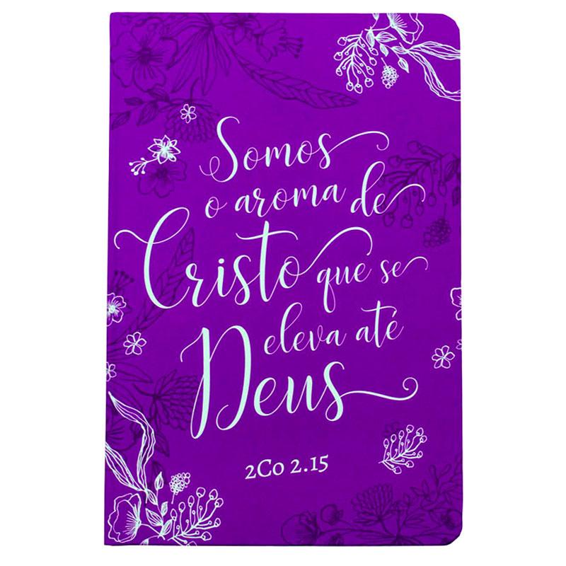 Bíblia Sagrada   NVT   Capa Semiflexível   Roxa