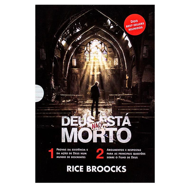 Box Deus Não Está Morto 1 E 2 | Rice Broocks