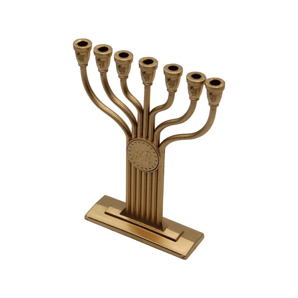 Candelabro Menorá Jerusalém Tamanho Médio Plástico