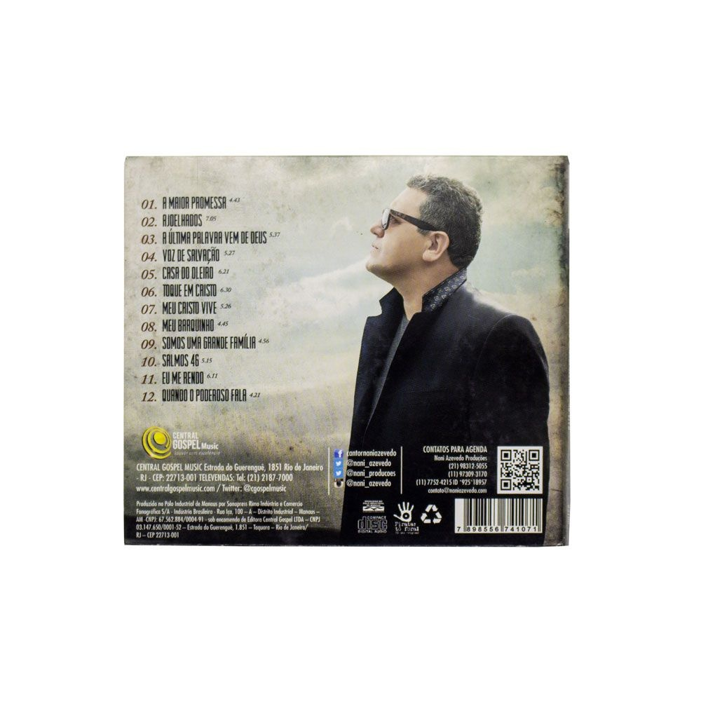 CD: A Última Palavra - Nani Azevedo