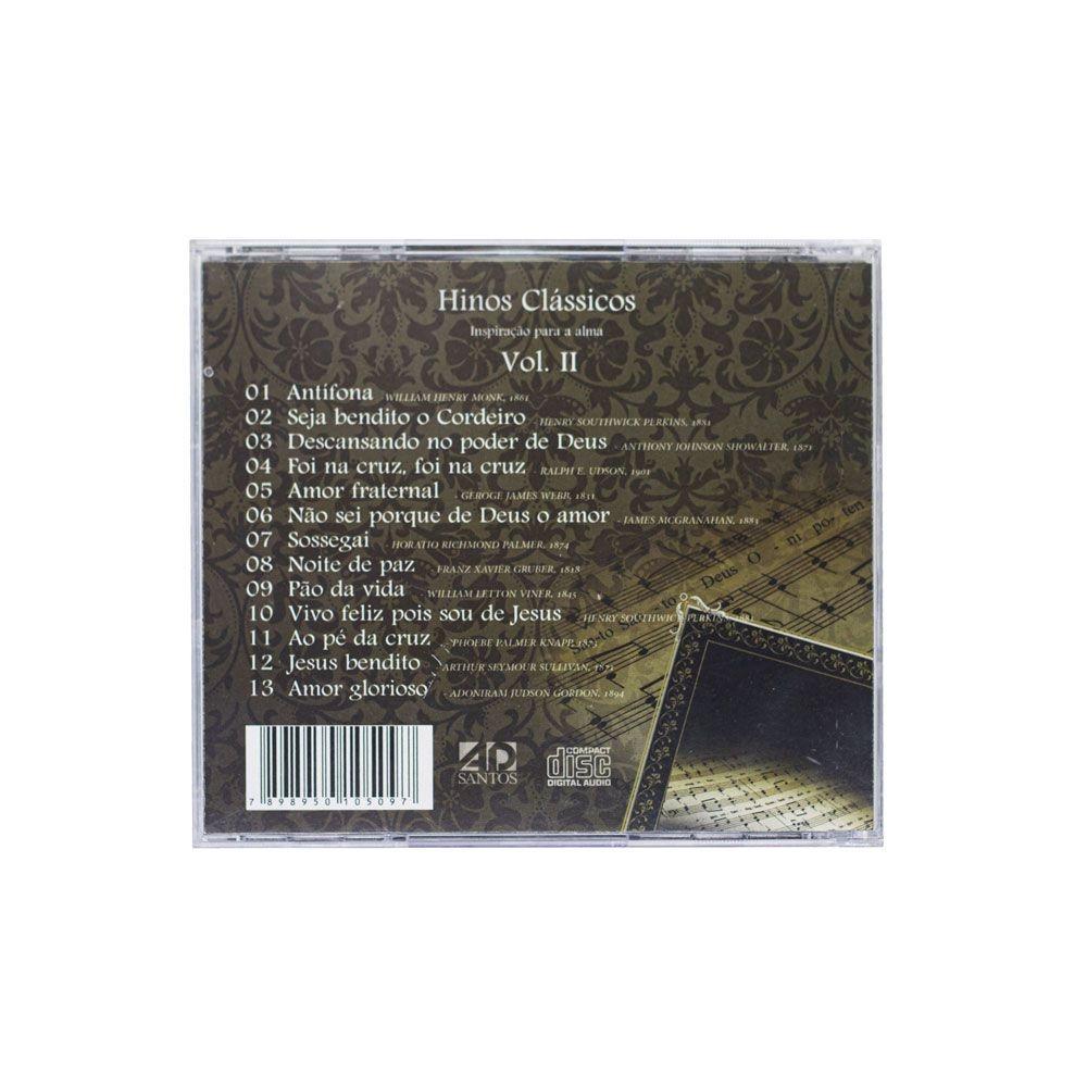 CD: Hinos Clássicos Vol. 2 | J. Camargo Jr.
