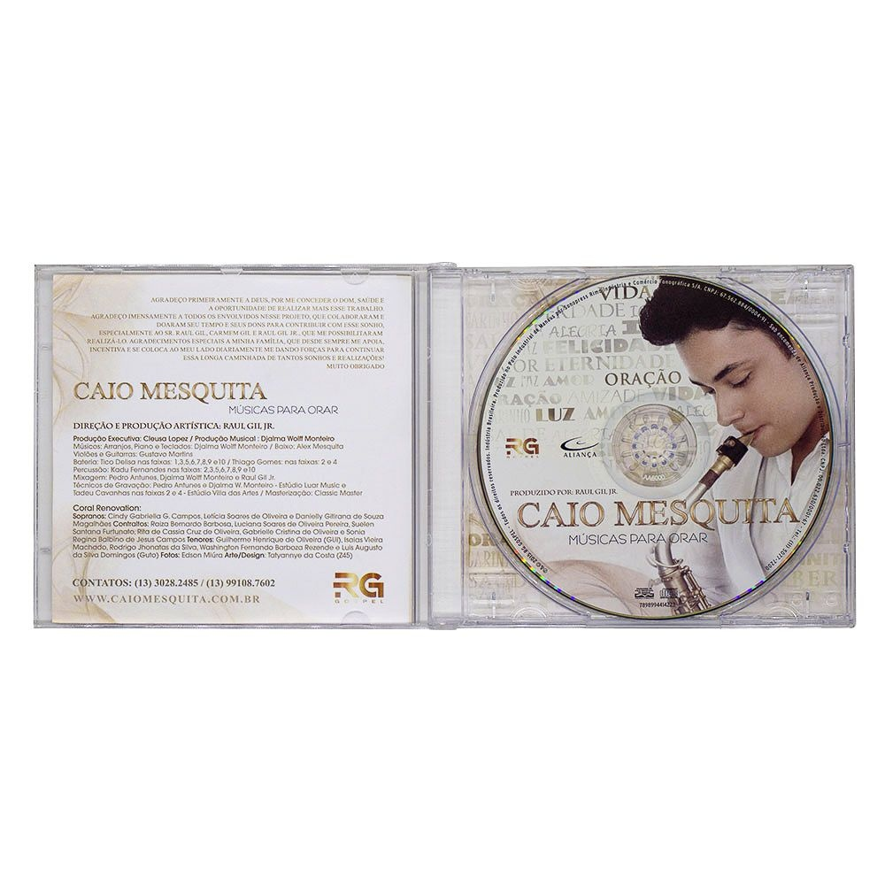 CD: Músicas Para Adorar | Caio Mesquita