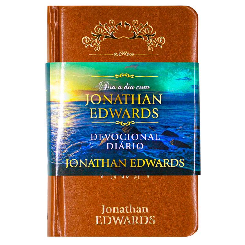 Devocional: Dia A Dia Com Jonathan Edwards | Capa Couro Luxo
