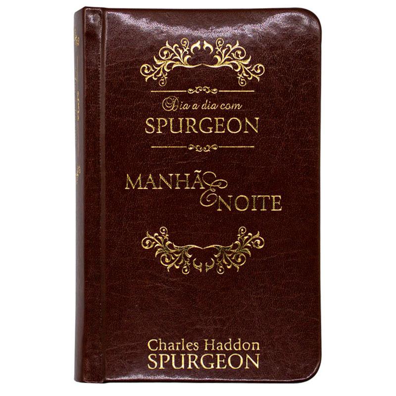 Devocional: Dia A Dia Com Spurgeon - Capa Couro Luxo | Charles Haddon Spurgeon