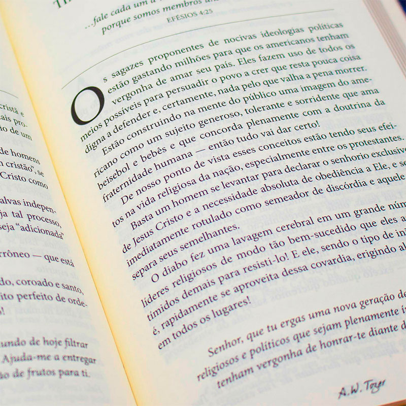Devocional: Dia A Dia Com Tozer - Capa Dura   A.W. Tozer