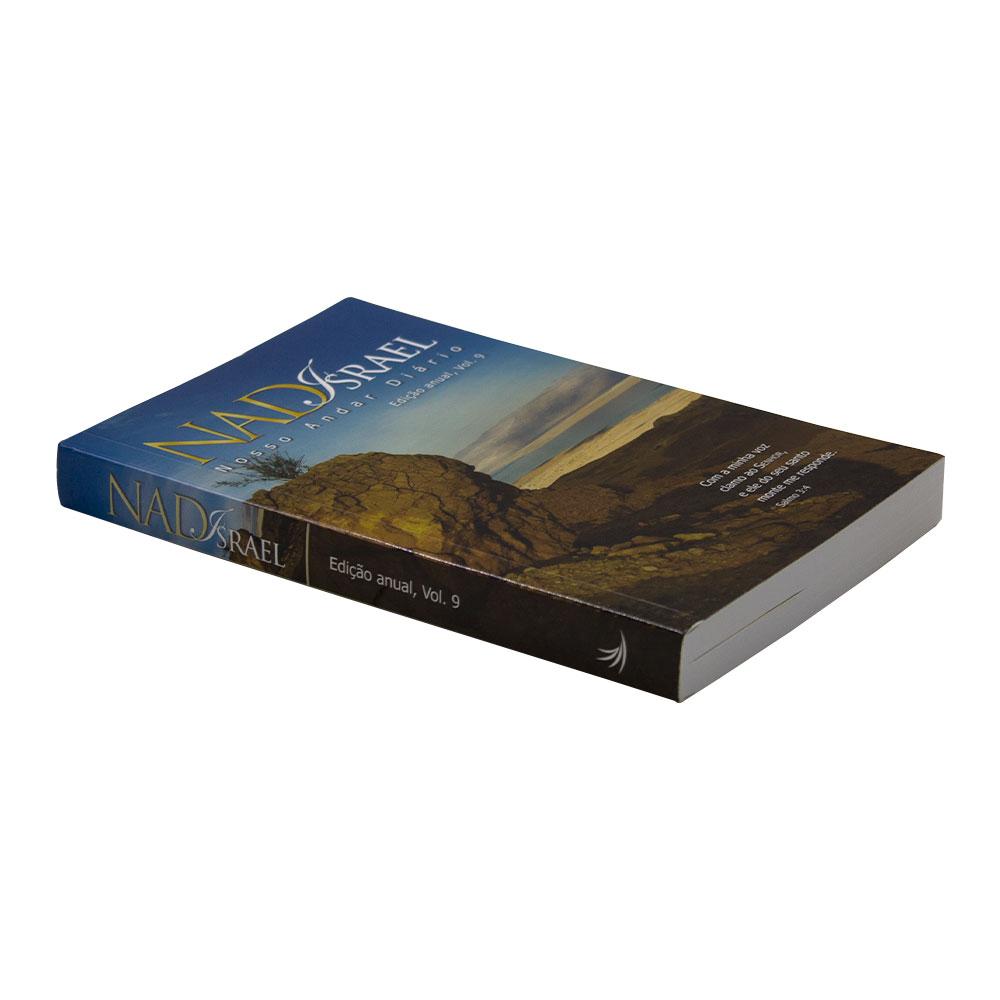 Devocional: Nosso Andar Diário Vol. 9   Capa Israel   Vários Autores