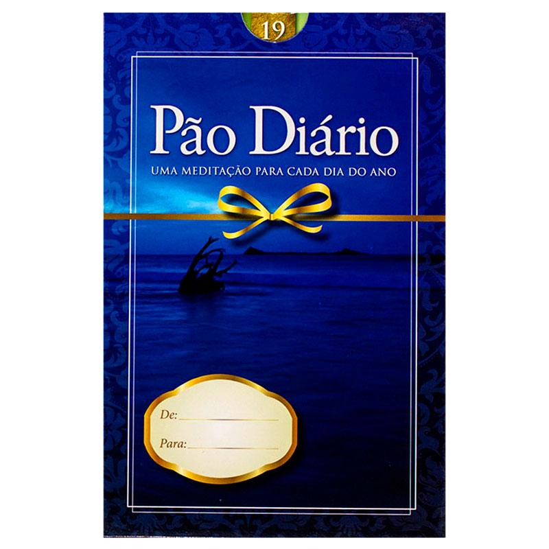 Devocional: Pão Diário 19 | Edição Presente | Azul