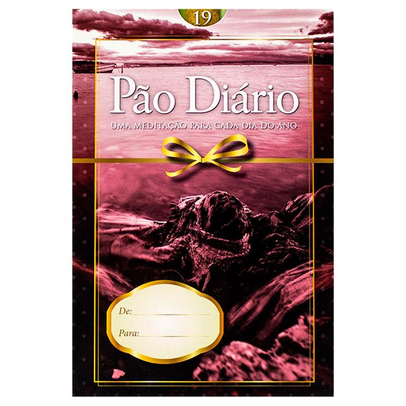 Devocional: Pão Diário 19   Edição Presente   Vermelho