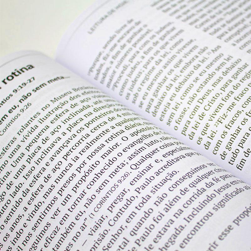 Devocional: Pão Diário É Só O Começo 60+ | Letra Gigante
