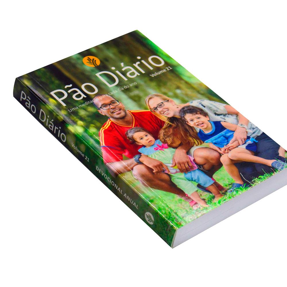 Devocional: Pão Diário Volume 21   Capa Família