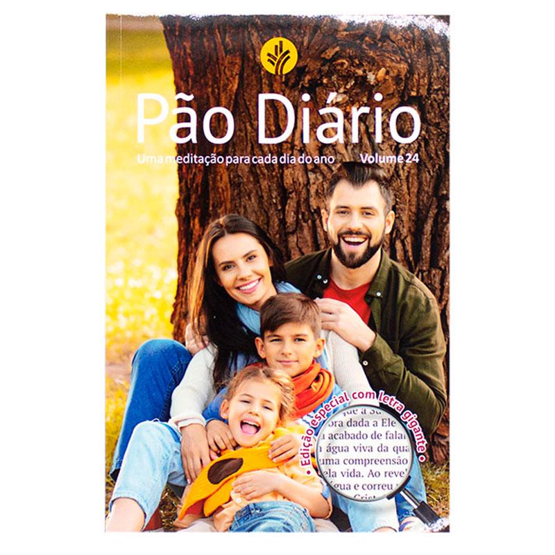 Devocional: Pão Diário Volume 24 | Capa Família | Letra Gigante