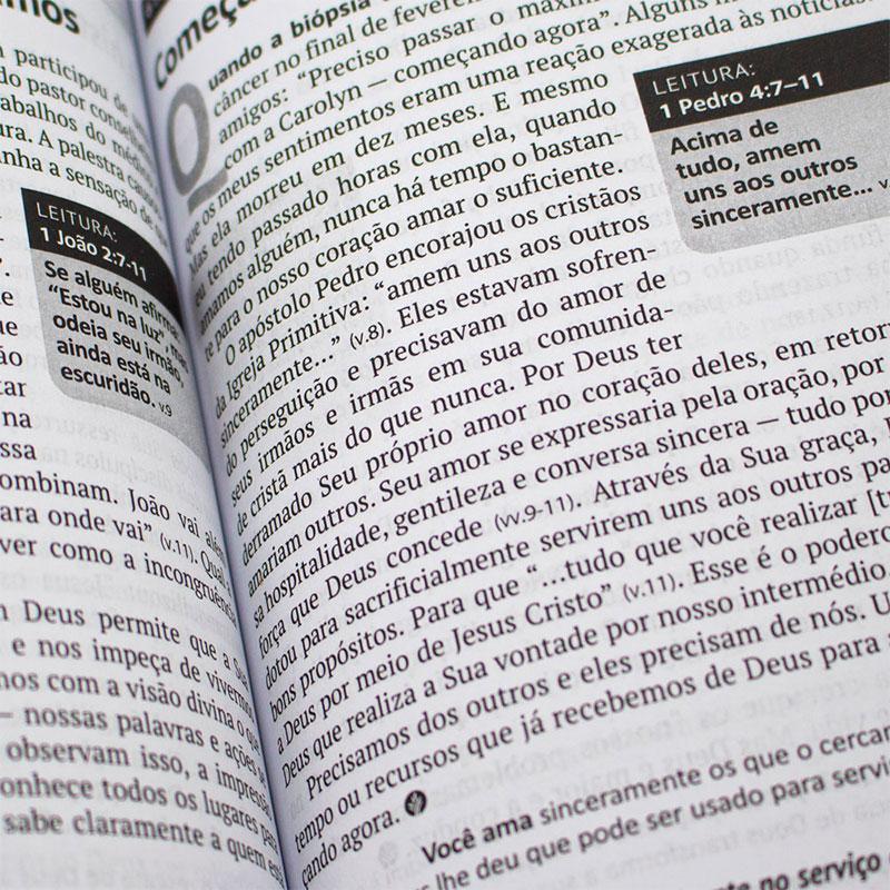 Devocional: Pão Diário Volume 24 | Capa Tempo Certo