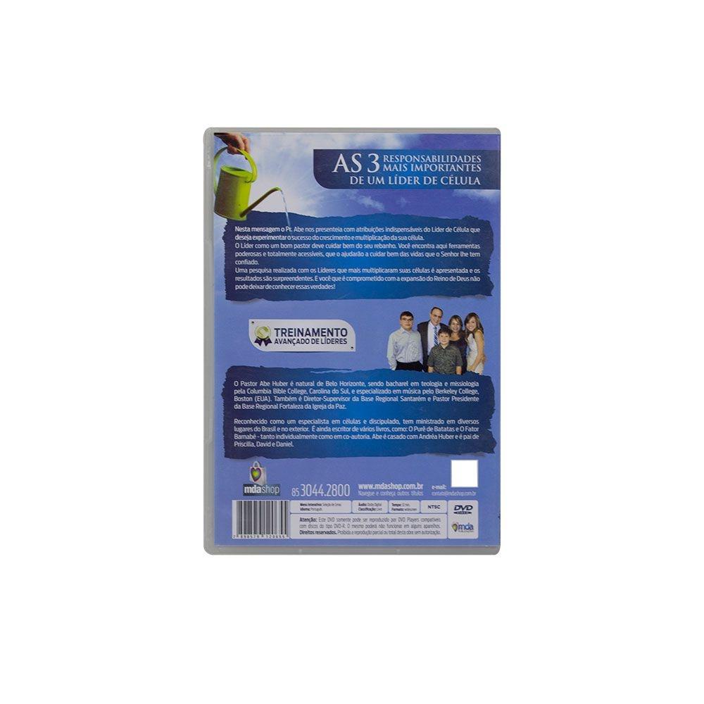 DVD: As 3 Responsabilidades Mais Importantes De Um Líder De Célula | Abe Huber