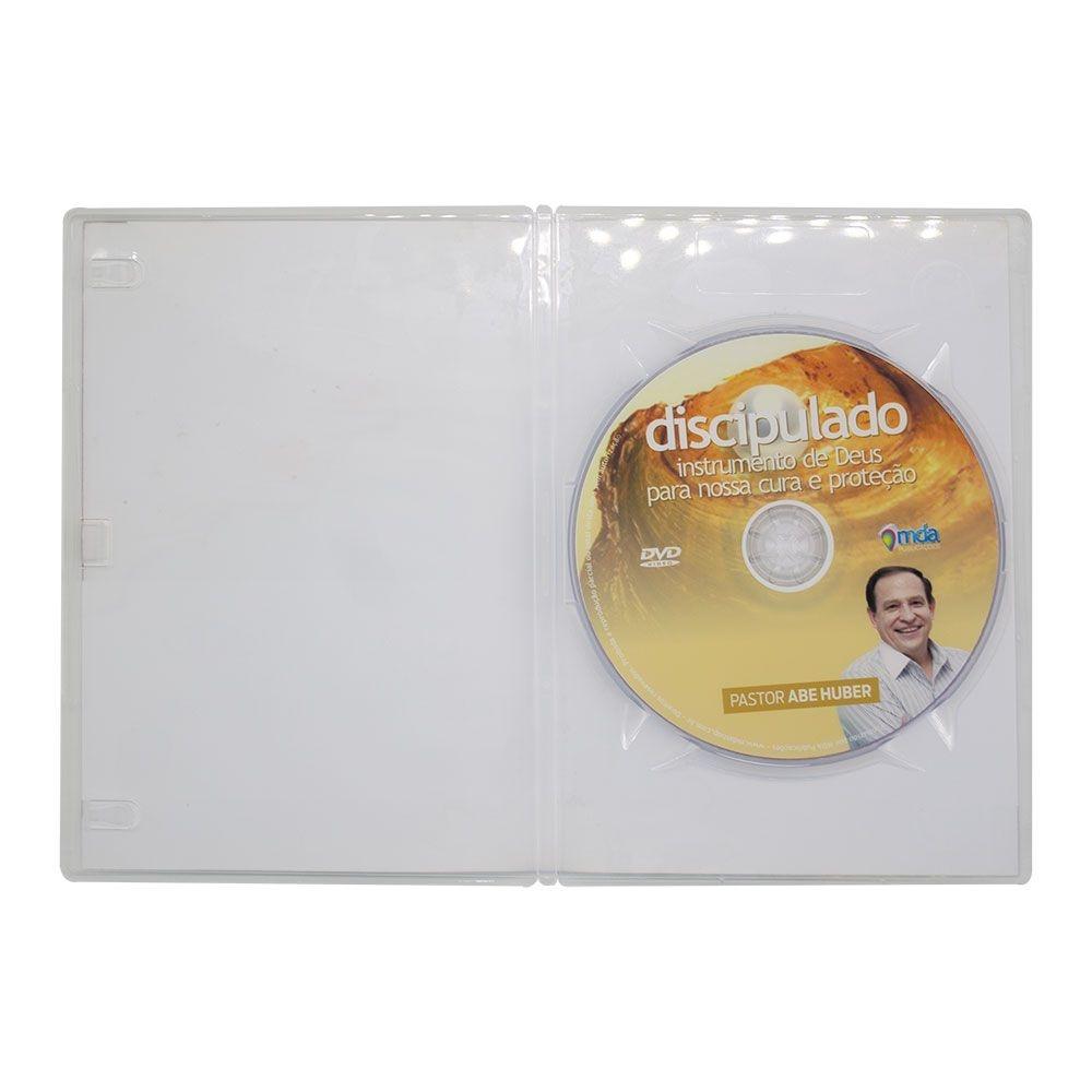DVD Discipulado: Instrumento De Deus Para Nossa Cura E Proteção