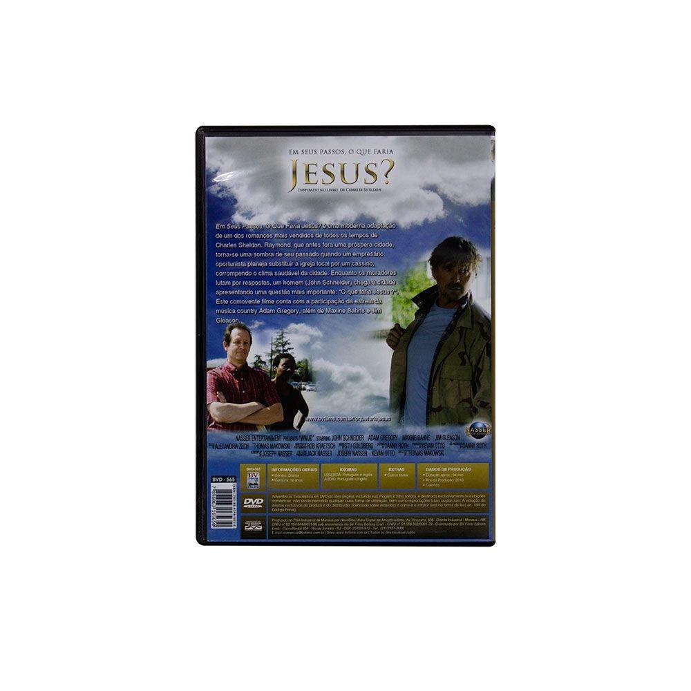 DVD: Em Seus Passos O Que Faria Jesus?