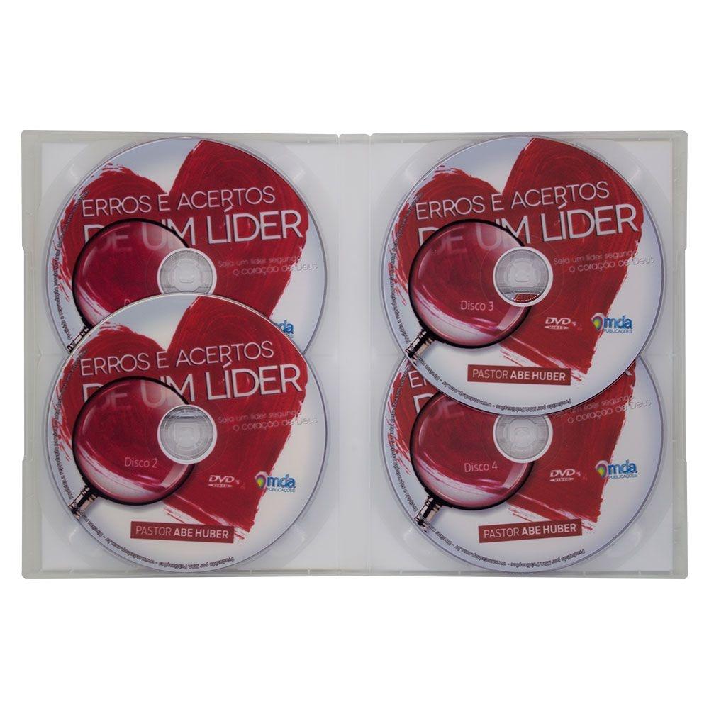 DVD: Erros E Acertos De Um Lider   Abe Huber