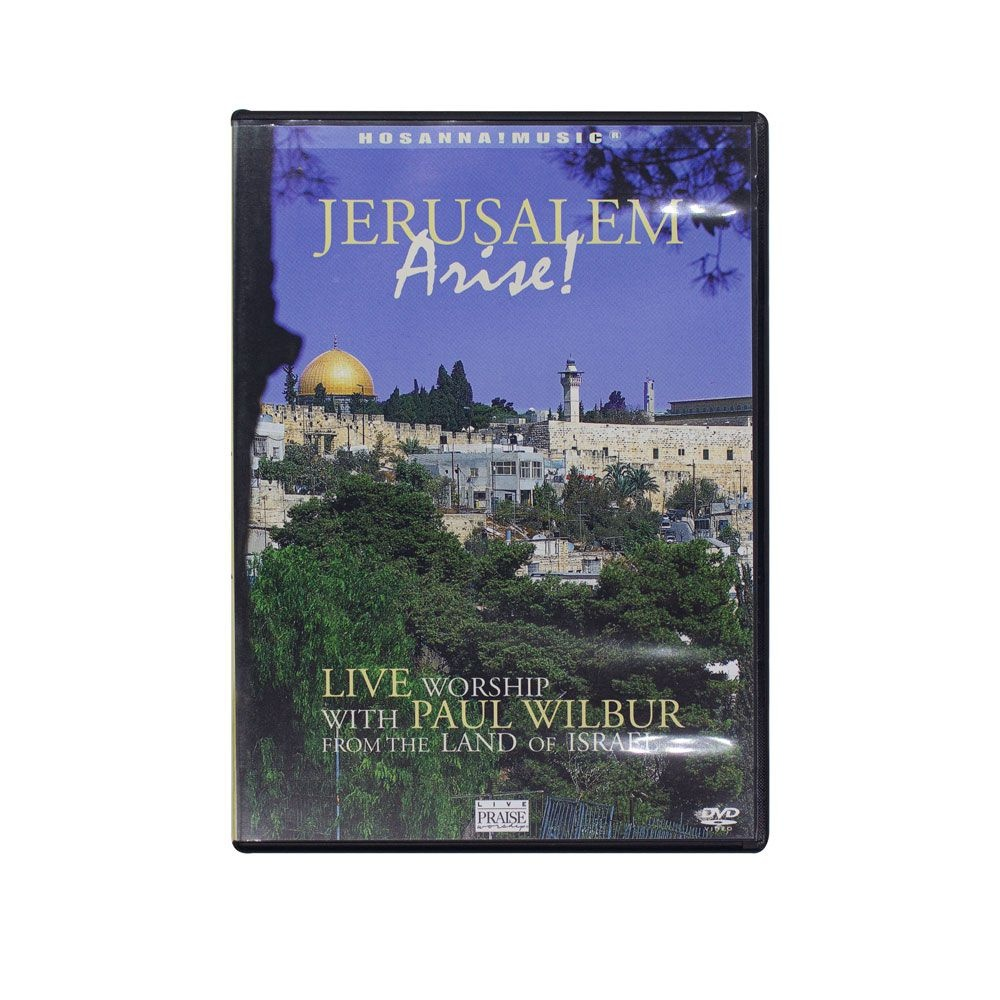 DVD: Jerusalém Arise! - Paul Wilbur