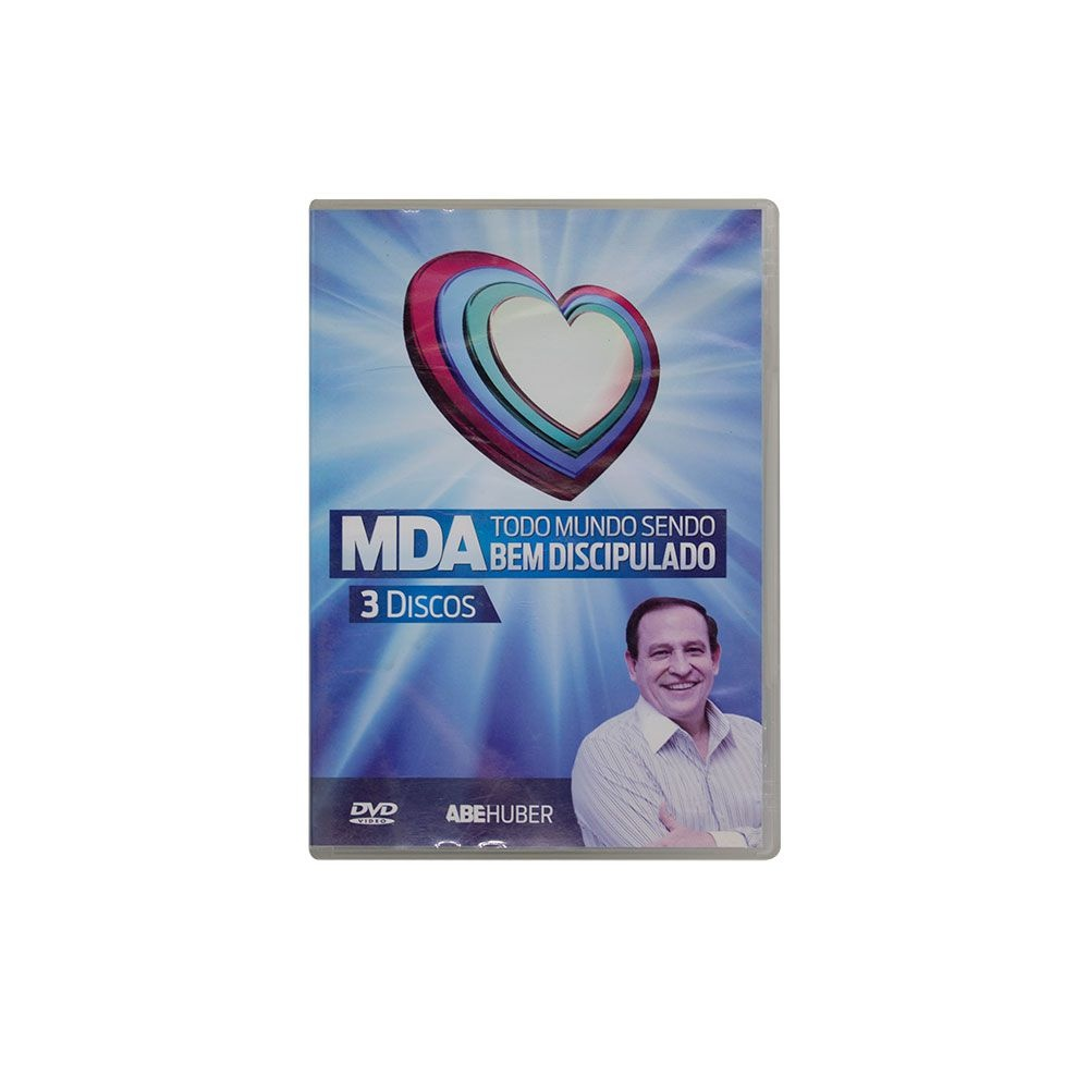 DVD: MDA, Todo Mundo Sendo Bem Discipulado - 3 Discos | Abe Huber