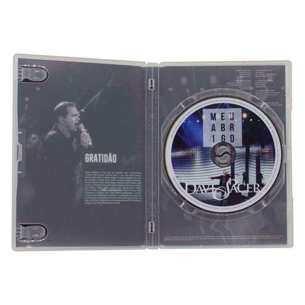 DVD: Meu Abrigo -  Davi Sacer