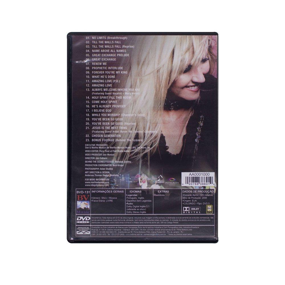 Dvd: No Limits Live - Martha Munizzi