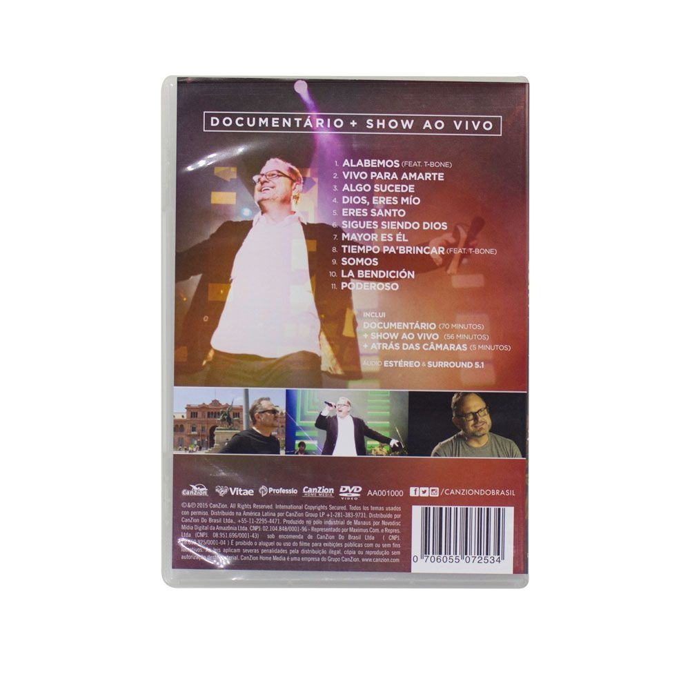 DVD: Sigues Siendo Dios   Marcos Witt