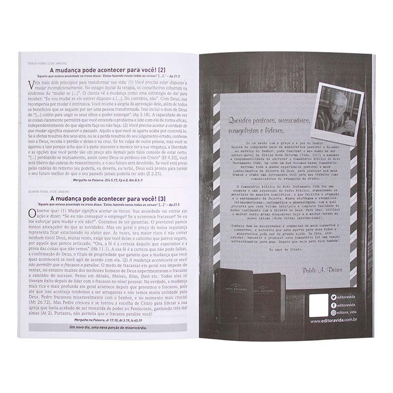 Kit 2 Devocionais A Palavra Para Hoje | Edições 62 E 63