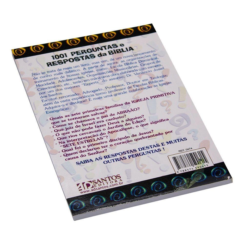 Livro: 1001 Perguntas E Respostas Da Bíblia | Venâncio Josiel Dos Santos