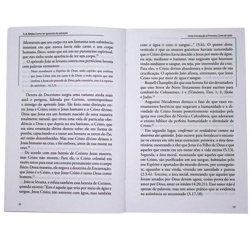 Livro: 1, 2, 3 João - Comentários Expositivos   Hernandes Dias Lopes