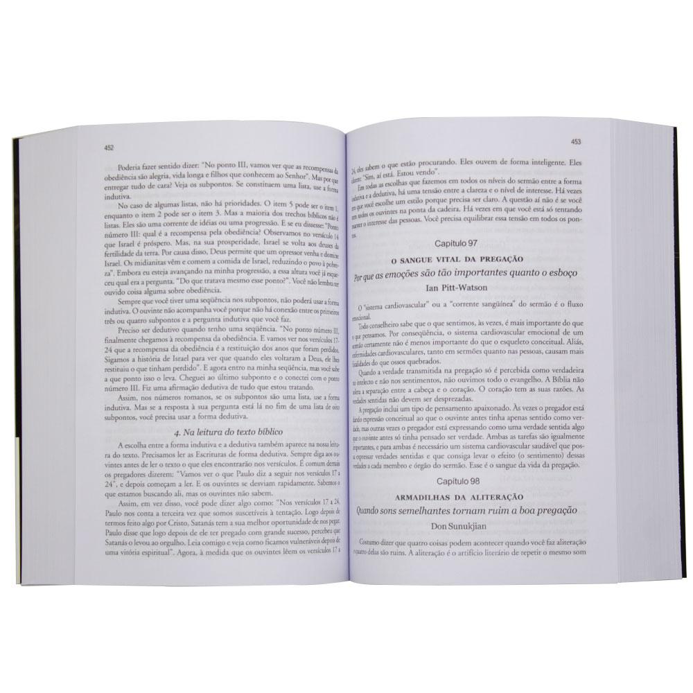 Livro: A Arte E O Ofício Da Pregação Bíblica   Haddon W. Robinson & Graig  Brian Larson