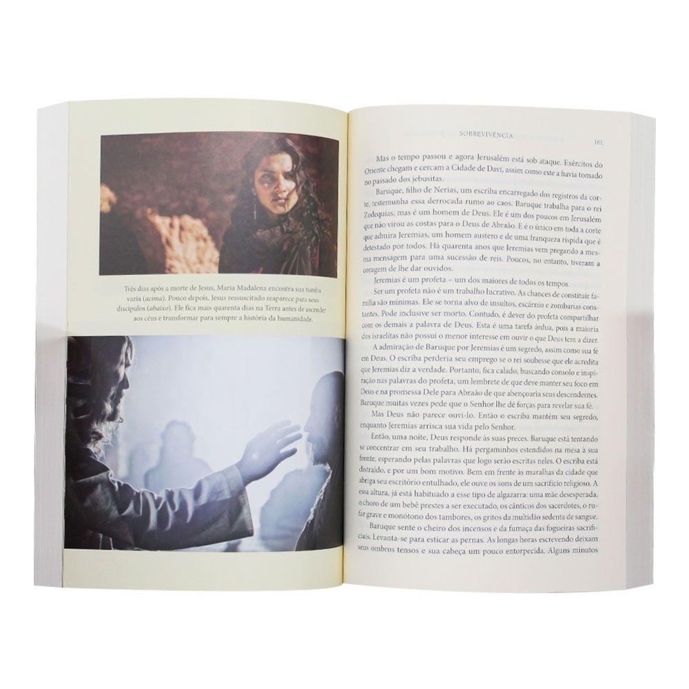 Livro: A Bíblia; A Historia De Deus E De Todos Nos   Roma Downey E Mark Burnett