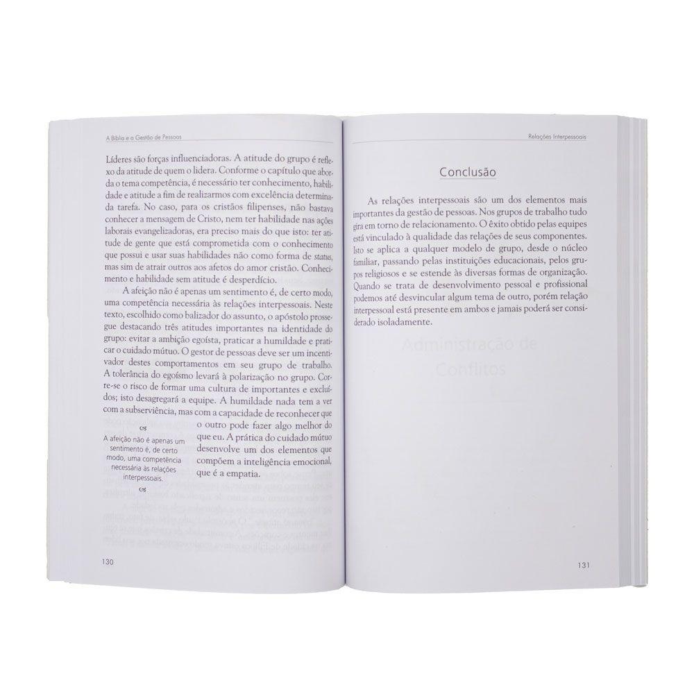 Livro: A Bíblia E A Gestão De Pessoas | Paulo Roberto De Araújo