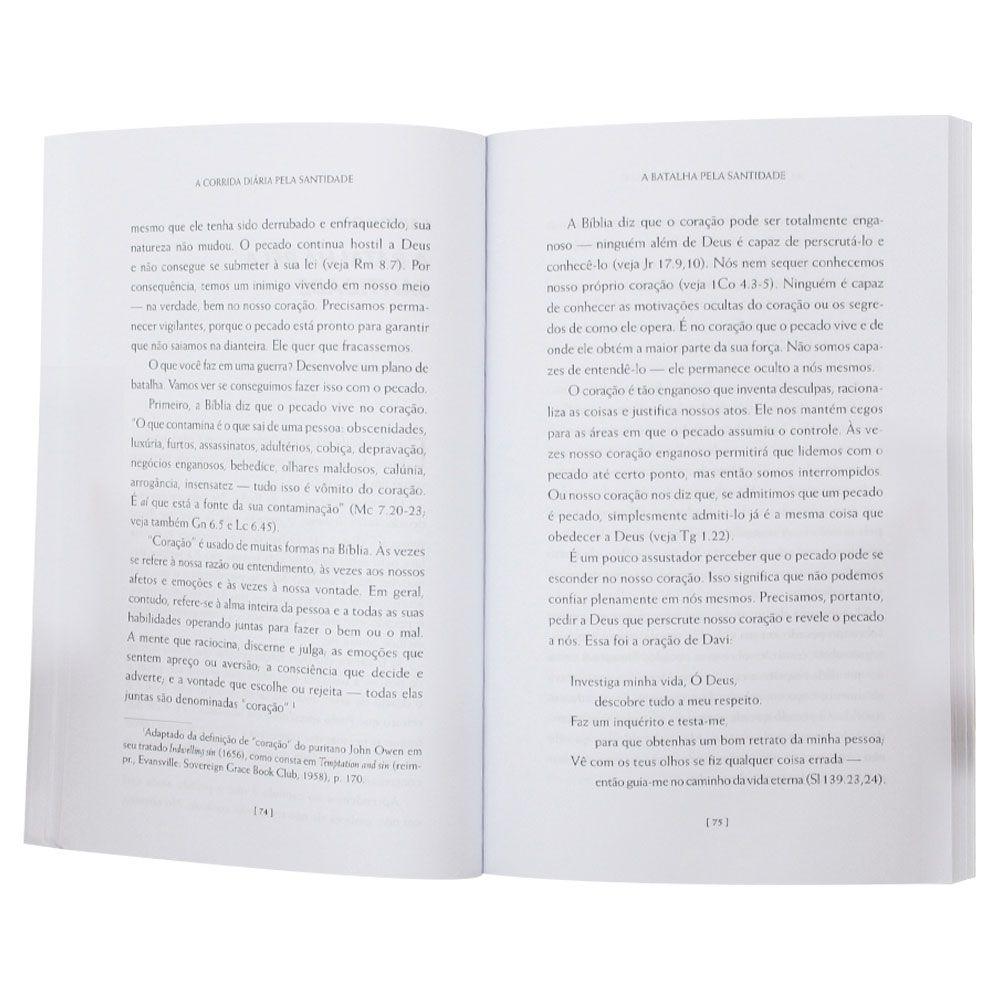 Livro: A Corrida Diária Pela Santidade | Jerry Bridges