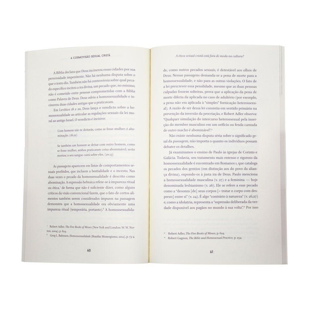 Livro: A Cosmovisão Sexual Cristã | Andrew Sandlin