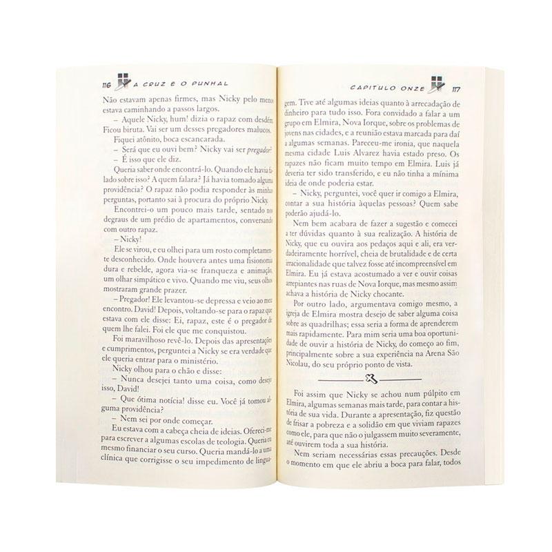 Livro: A Cruz E O Punhal | David Wilkerson