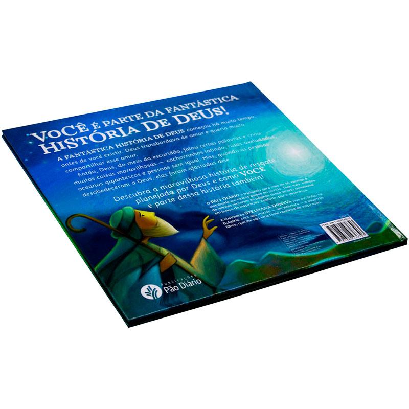 Livro: A Fantástica História De Deus Para Você | Ministério Pão Diário