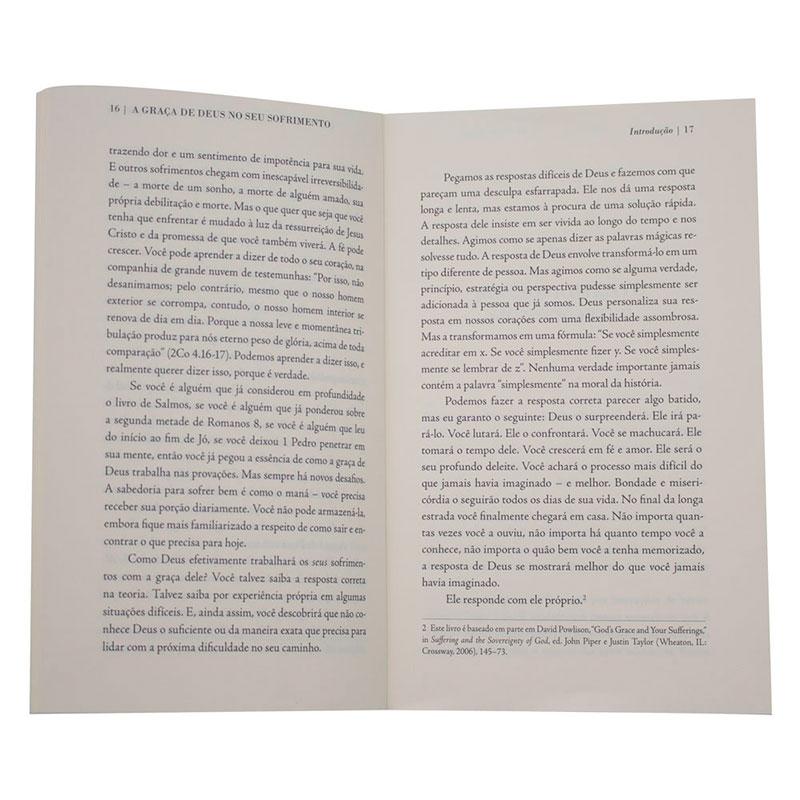 Livro: A Graça De Deus No Seu Sofrimento | David Powlison