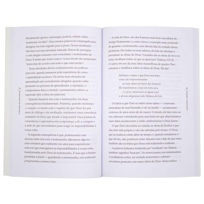 Livro: A Liberação Do Sobrenatural | Bill Johnson