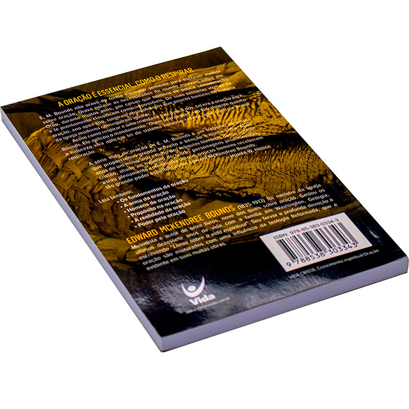 Livro: A Necessidade Da Oração   Edward Mckendree Bounds