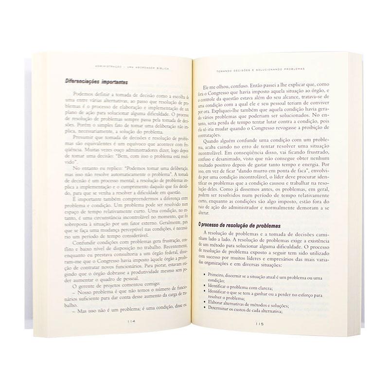 Livro: Administração, Uma Abordagem Bíblica | Myron Rush
