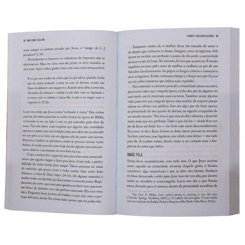 Livro: Amar Como Jesus Ama   Philip Graham Rykend