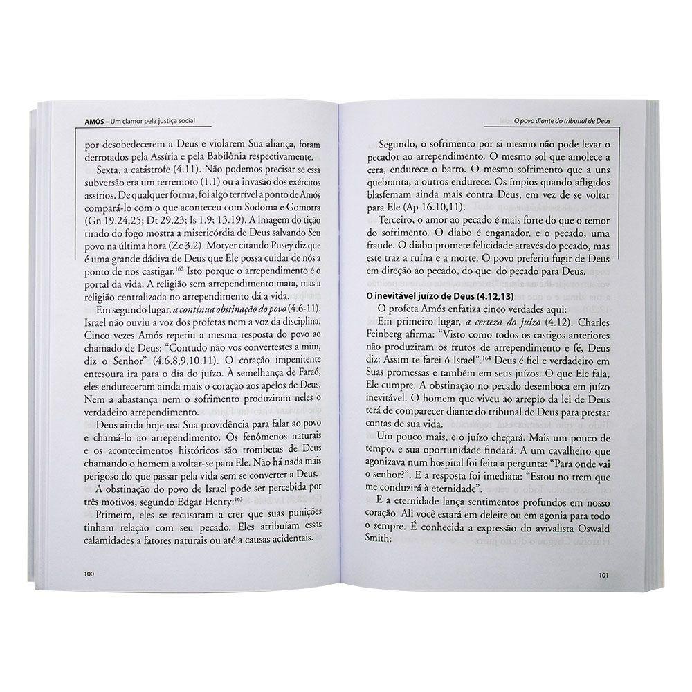 Livro: Amós - Comentários Expositivos Hagnos | Hernandes Dias Lopes
